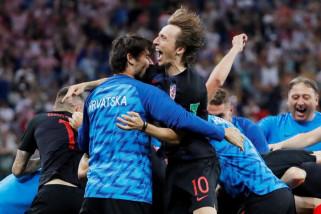 Kroasia menangi adu penalti untuk mencapai perempat final