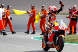 Marquez menangi Grand Prix Jerman untuk kesembilan kali secara beruntun