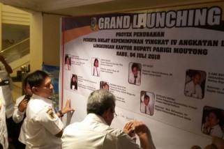 8 Proyek Perubahan Lingkup Kantor Bupati Parimo diluncurkan