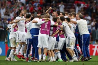 Piala Dunia 2018 - Rusia kalakan Spanyol lewat adu penalti