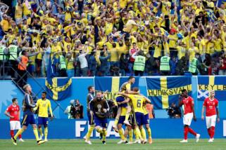 Piala Dunia 2018 - Swedia menang 1-0 atas  Swiss