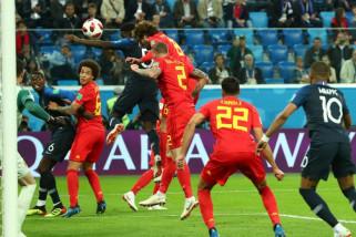 Piala Dunia 2018 - Tandukan Umitti bawa Prancis ke final Piala Dunia