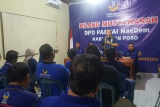 Nasdem Poso dongkrak perolehan kursi DPRD Sulteng