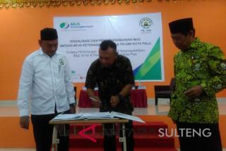 Pengurus masjid se-Kota Palu dilindungi program BPJS Ketenagakerjaan
