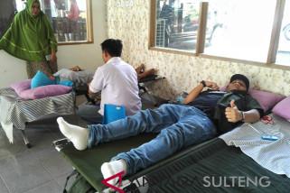 FGBMFI Palu kumpulkan 170 kantong darah di HUT Kemerdekaan