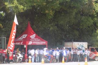 Honda #Cari_Aman bersama SMA 2 Palu