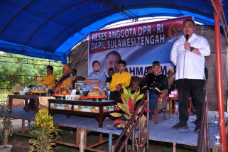 Anggota DPR jaring aspirasi masyarakat tiga kabupaten