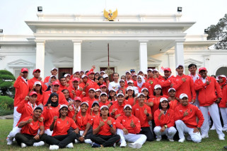 Asian Games - Presiden lepas kontingen Asian Games 2018
