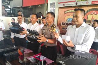 Tipu konsumen, seorang penjual pulsa di Palu ditangkap polisi