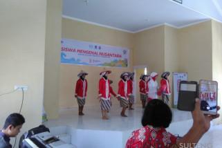 Penampilan seni sambut SMN 2018 di SLBN Marawola
