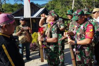 Mabes TNI pantau TMMD di Poso