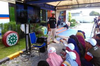 Peserta SMN kunjungi proyek PT. Wijaya Karya di Sungai Palu