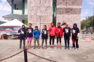 Nurlela juara lead perorangan puteri wall climbing competition