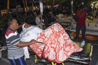 Korban meninggal gempa NTB sebanyak 82 orang