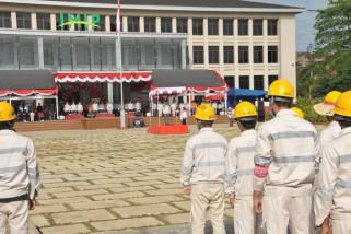 TKA di PT.IMIP Morowali pun ikuti upacara HUT RI