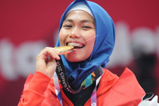 Presiden bangga atlet Taekwondo raih emas pertama