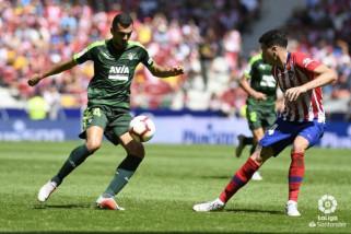 Berkat gol telat Borja Garces, Atletico imbangi Eibar 1-1