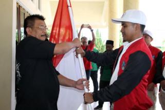 Bupati Terima Peserta Kirab Satu Negeri GP Ansor
