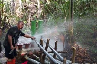 Bank sulteng cabang poso bantu program air bersih