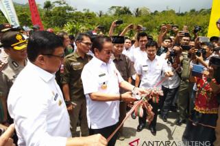 Gubernur Sulteng resmikan batas kabupaten Poso-Sigi