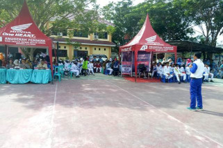 Honda edukasi #Cari_Aman di SMA Negeri 4 Palu