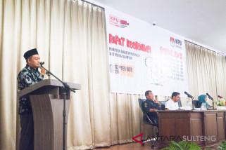 KPU palu tetapkan 46 lokasi pemasangan alat peraga kampanye