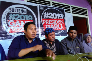 Deklarasi #2019GantiPresiden di Sulteng ditunda
