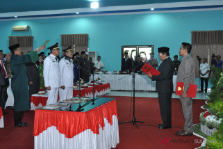 Gubernur Sulteng lantik Bupati dan Wakil Bupati Morowali