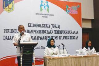 Gubernur Sulteng ajak semua  pihak peduli masalah perempuan dan anak