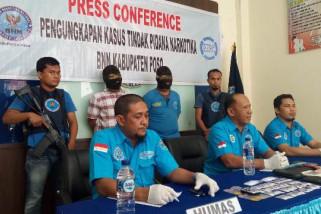 BNN Poso sita 47,8 gram sabu dari bandar yang mantan anggota Polri
