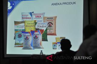 PT.Pupuk Kaltim sosialisasikan produk-produknya di Kota Palu