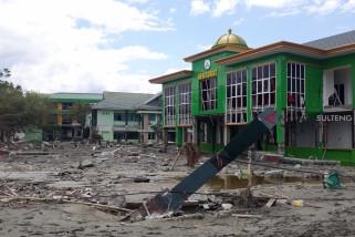 Gedung IAIN Palu rusak akibat gempa tsunami