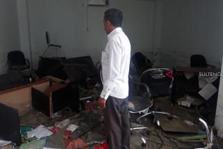 Mobiler dan Elektronik IAIN Palu hancur dihantam gempa-tsunami
