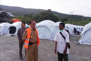 Gubernur minta pembangunan huntara dikoordinasikan dengan Kementerian PUPR