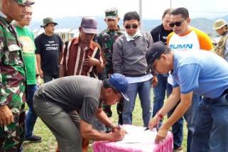 400 huntara Kementerian BUMN dibangun di Sigi