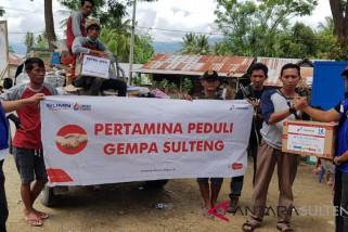 Pertamina salurkan logistik untuk 22 titik wilayah terdampak bencana