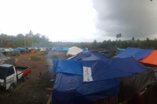Pemerintah belum bangun huntara korban gempa-tsunami Sindue