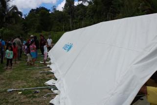 Upaya pemerintah mendirikan sekolah darurat pascagempa Sulteng