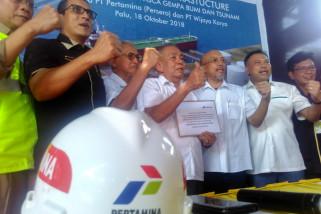 Pertamina pulihkan infrastruktur terminal BBM Donggala pascabencana