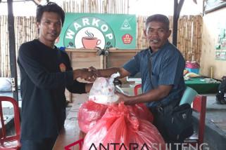 Posko Ansor terima pasokan bantuan dari Mamuju