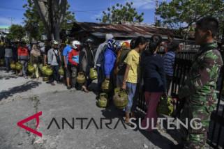 Konsumsi Elpiji di Palu Meningkat Pascabencana