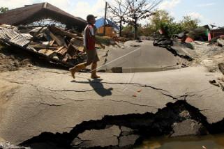 Situasi pascagempa di Palu Selatan