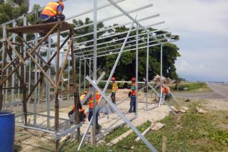 Pemkot Palu bangun huntara di 24 kelurahan