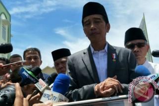 Jokowi berterima kasih ke perguruan tinggi bantu bencana
