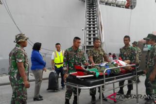 KRI  Dr Soeharso layani ratusan korban gempa