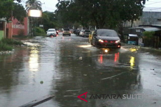 Kota Palu diguyur hujan lebat