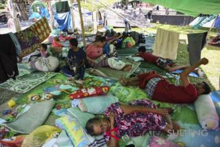 Pemerintah didesak sediakan lokasi penampungan korban gempa