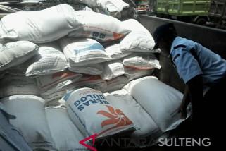 Stok beras Sulteng aman