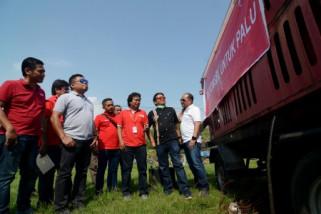 Combat Telkomsel untuk korban gempa Sulteng