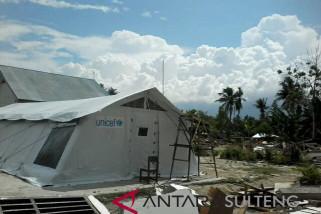 Unicef bantu tenda sekolah rusak akibat gempa